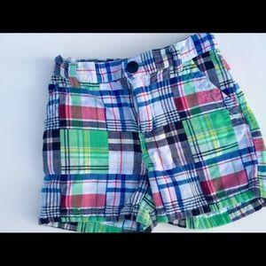 Boys 3T plaid dress shorts
